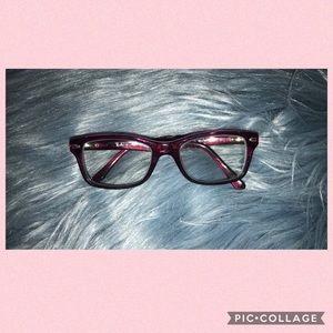 Ray Ban Purple Eyeglasses